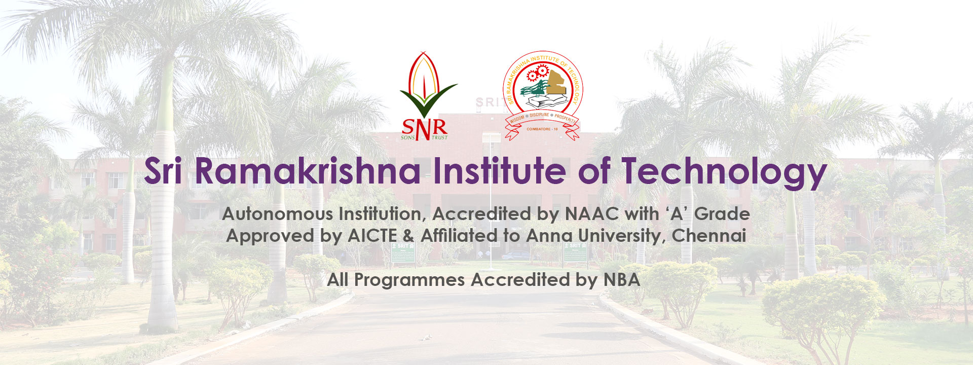 Sri Ramakrishna Institute of Technology, Autonomous Institution